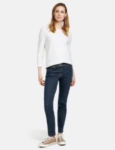 Jeansy damskie Gerry Weber Skinny-Fit 4Me Blue Denim